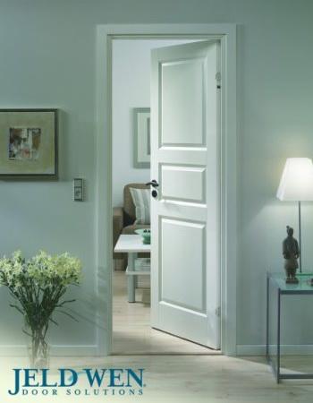 Финские белые двери N101