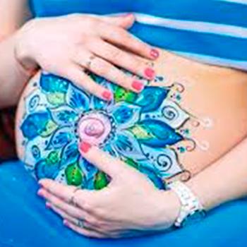 belly-art для беременных