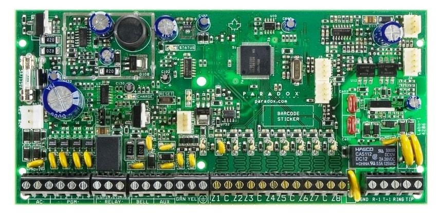 sp Контрольная панель плата paradox сигнализация spectra sp6000 spectra paradox контрольная панель централь охранной сигнализации парадокс